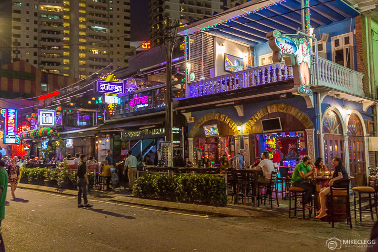 Bars in Changkat, Kuala Lumpur