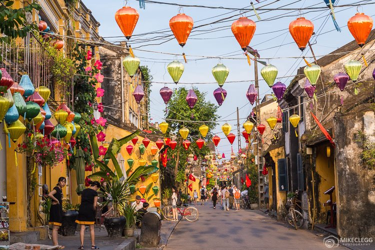 Beautiful Streets in Old Town Hoi An