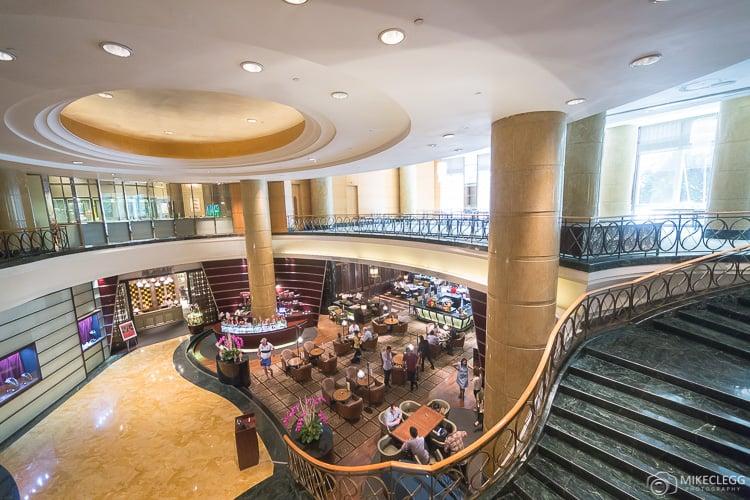 Beautiful decor in the Mandarin Oriental Kuala Lumpur
