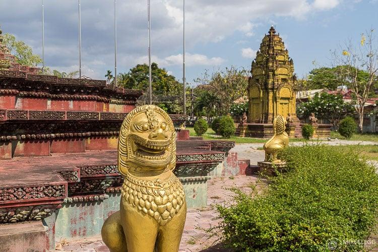 Cambodian Vietnamese War Memorial, Siem Reap