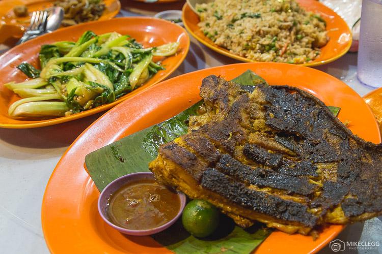Food along Jalan Alor, Kuala Lumpur