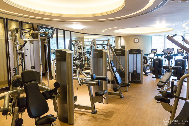 Gym at Island Shangri-la Hong Kong