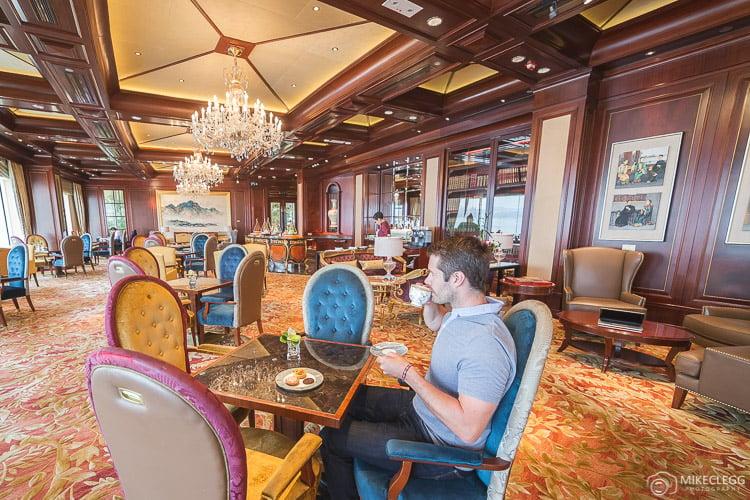 Horizon Club Lounge at Island Shangri-La Hong Kong
