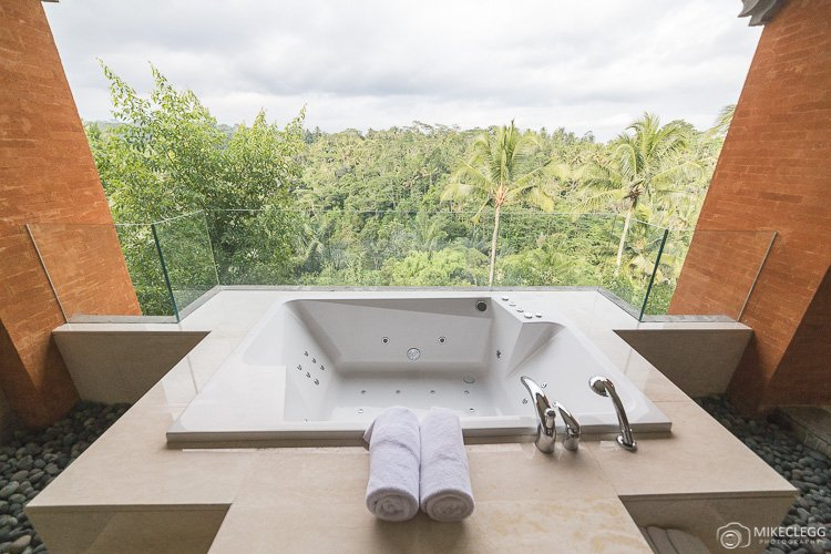 Hot Tub in a Suite at Padma Hotel Ubud
