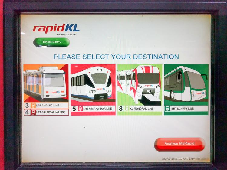 Kuala Lumpur Transport System
