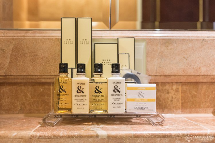 L'Occitane en Provence Toiletries at Shangri-La Hong Kong