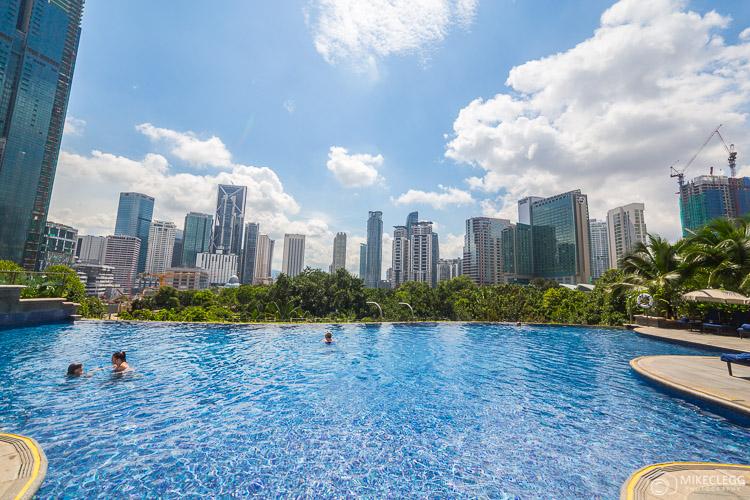 Mandarin Oriental, KL - Infinity Pool