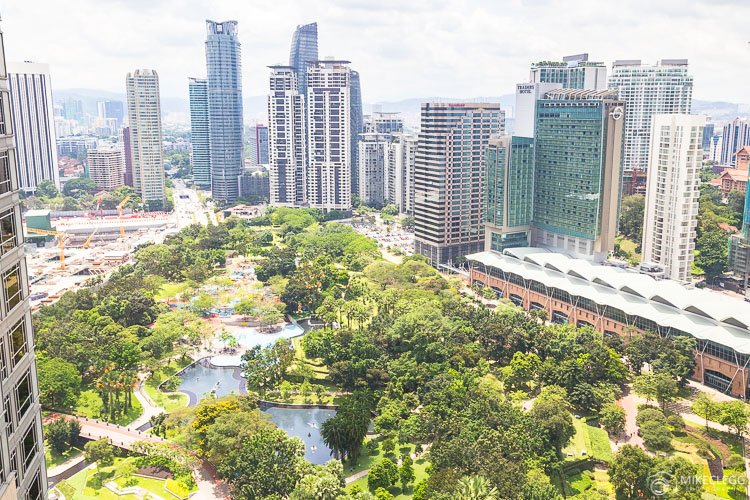 Mandarin Oriental KL - Park View Room