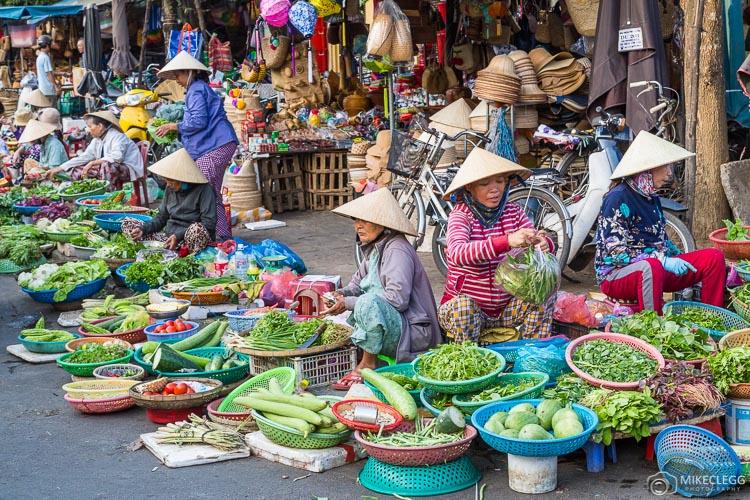Markets in Hoi An, Vietnam
