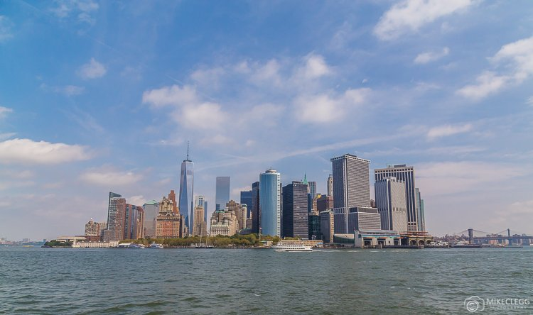 New York Skyline - Taken from a boat tour