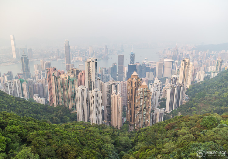 Peak View in Hong Kong