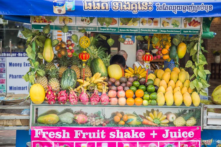 Smoothie Stall in Siem Reap