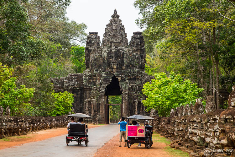 Tuk Tuks in Siem Reap