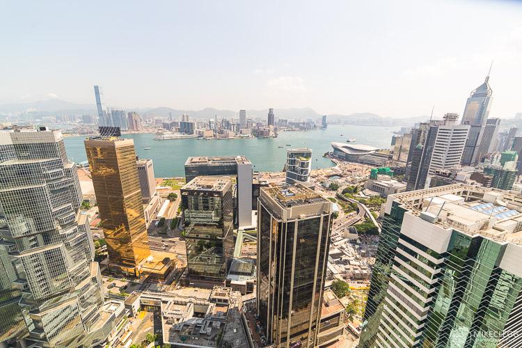 View of Hong Kong Harbour from Island Shangri-La