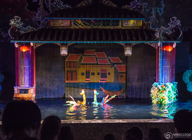 Water Puppet Show in Hoi An, Vietnam
