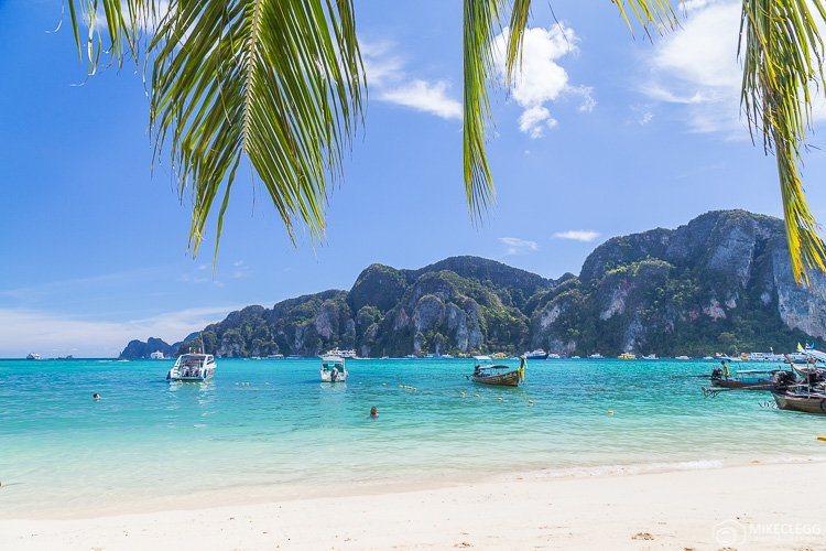 Beautiful beaches in Ko Phi Phi