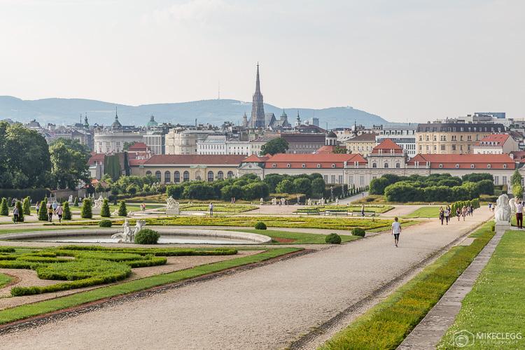 Belvedere Gardens, Vienna