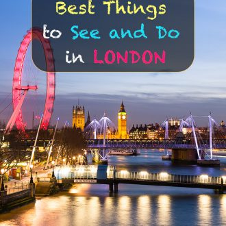 Best Things to See and Do in London