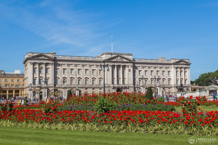 Buckingham Palace and Flowers