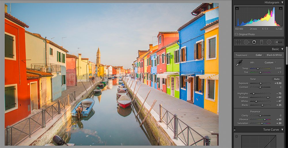 Burano Editing Example - Second Step