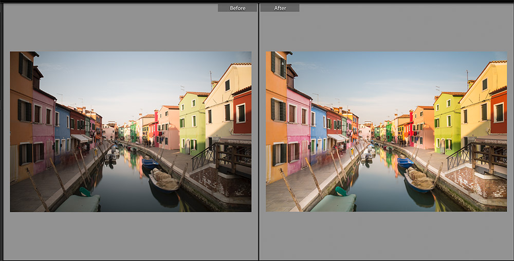 Burano Editing Example