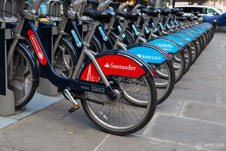 City Bikes in London