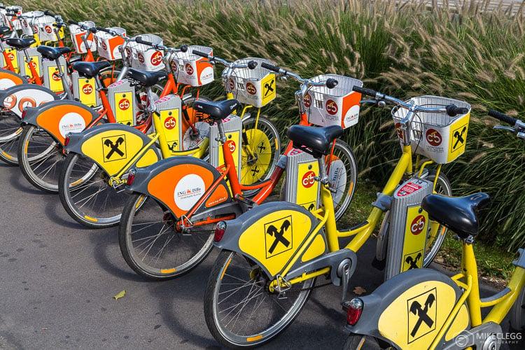 City Bikes in Vienna
