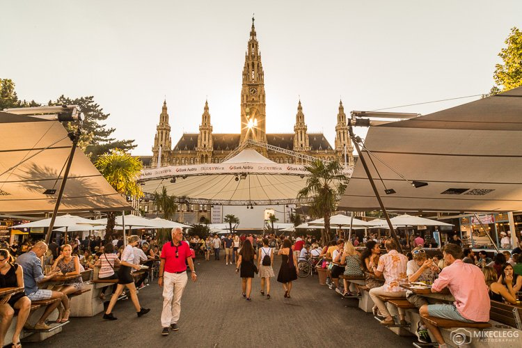 Festivals at Rathausplatz