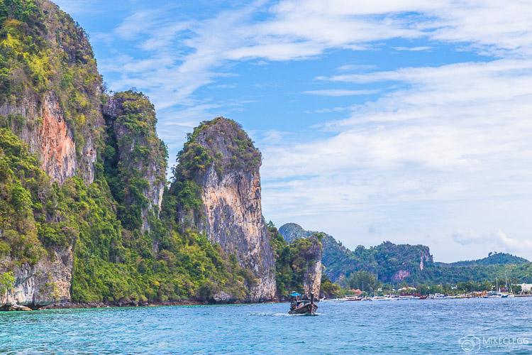 Landscape in Ko Phi Phi Don