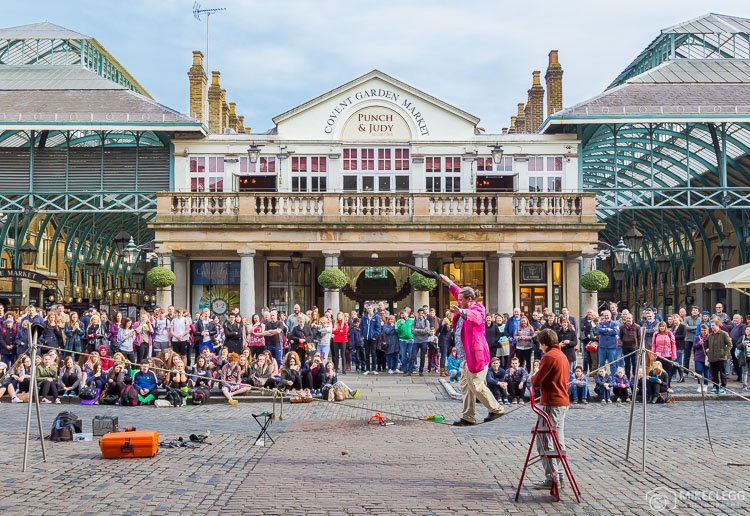 Performers and Covent Garden