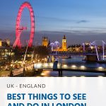 Pinterest - Best Things to See and Do in London