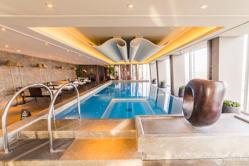 Pool at the Shangri-La At the Shard