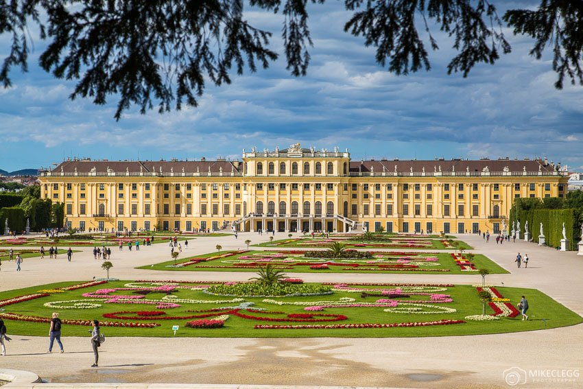 Schönbrunn Palace - Vienna in the summer