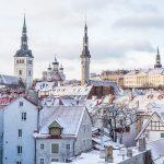 Tallinn in the winter