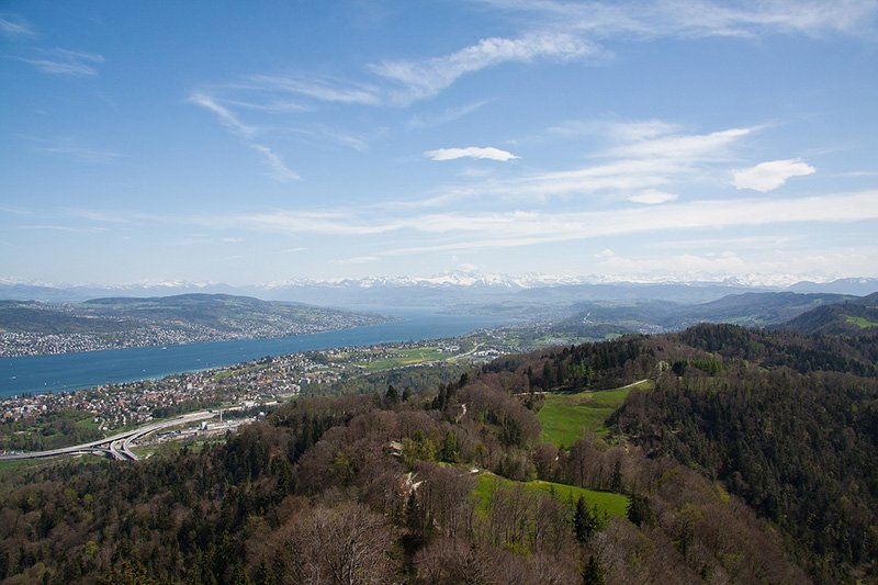 Views from Uetliberg, Zurich - CC0 (Pixabay)