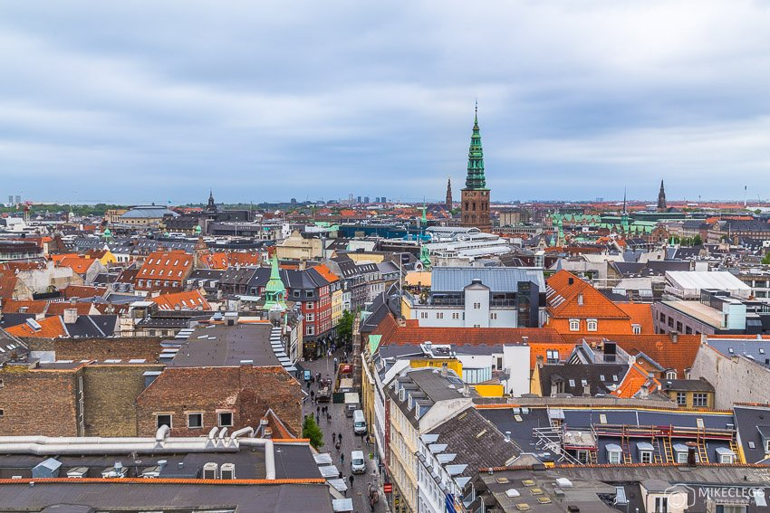 Views from the Round Tower, Copenhagen