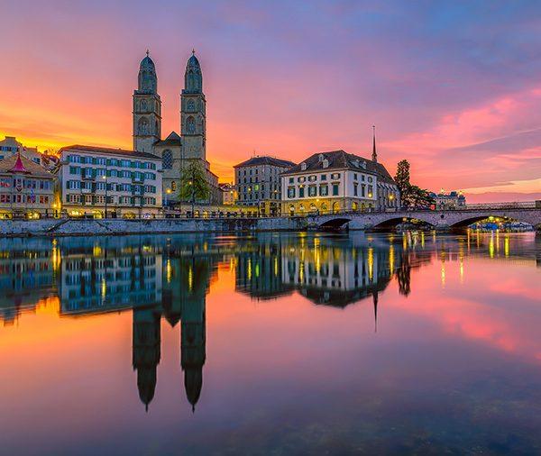 Zurich by Lukas Schlagenhauf CC
