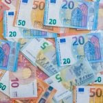 Banknotes and saving money