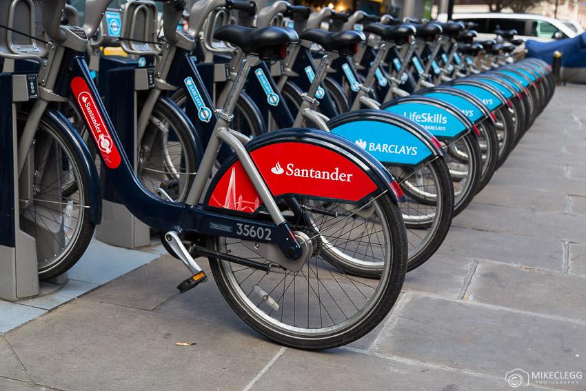 City Bikes in London