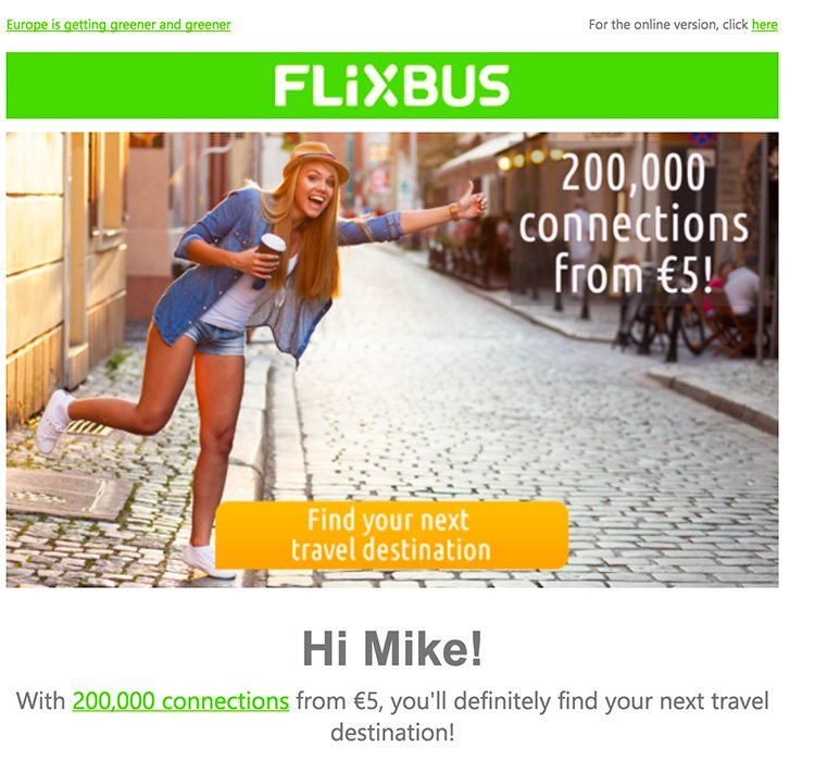 Flixbus Deal Example