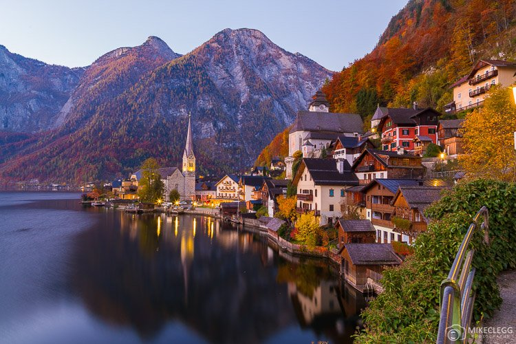 Hallstatt from the classic postcard viewpoint