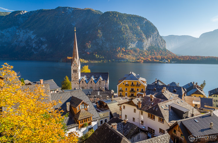 High views of Hallstatt Village