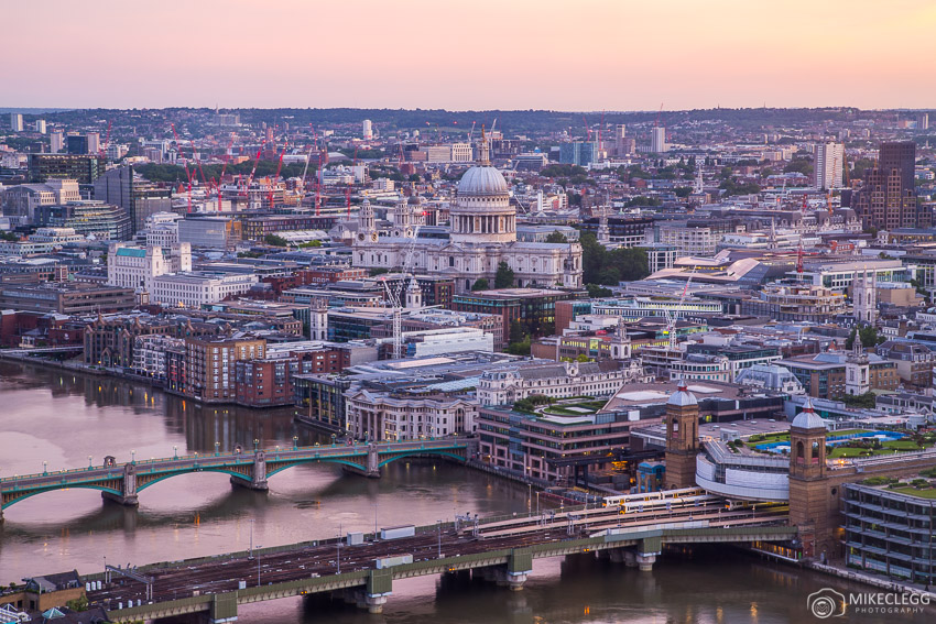 London Skyline in the morning