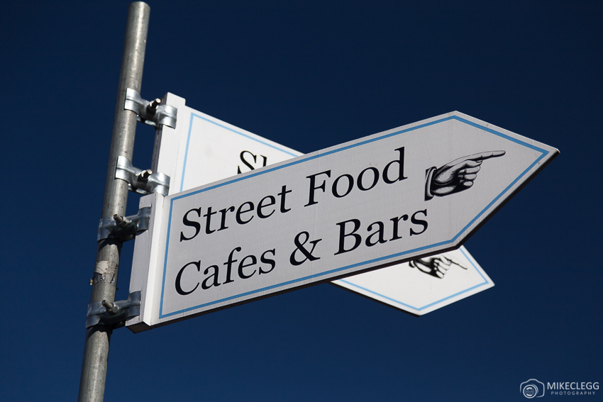 Sign for Street Food