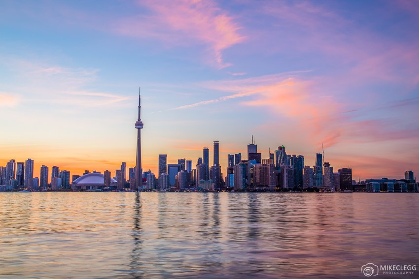 Toronto, Canada at sunset - Travel Photography