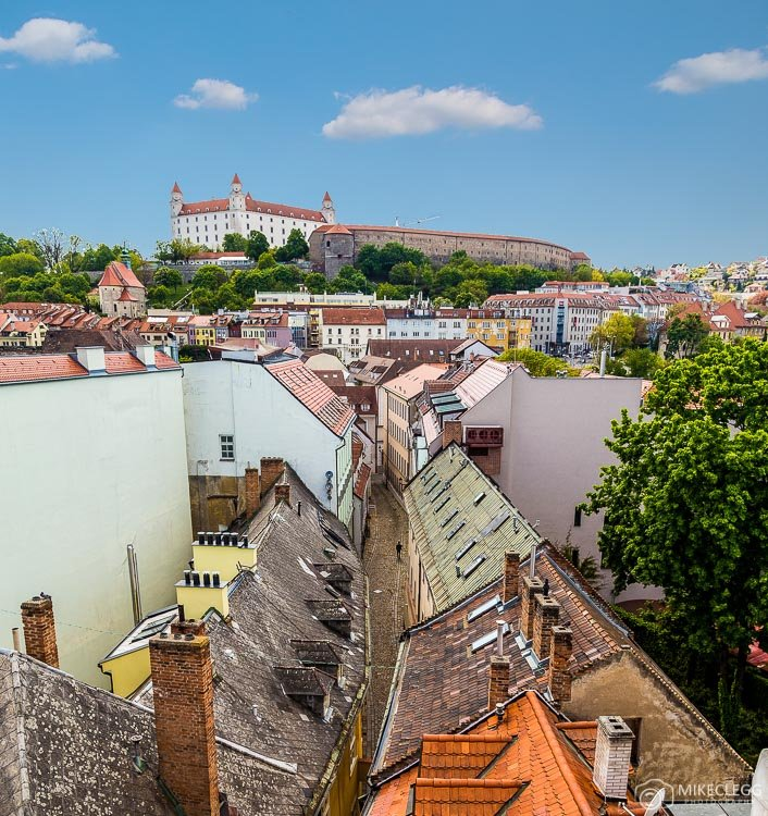 View from Michael's Gate, Bratislava