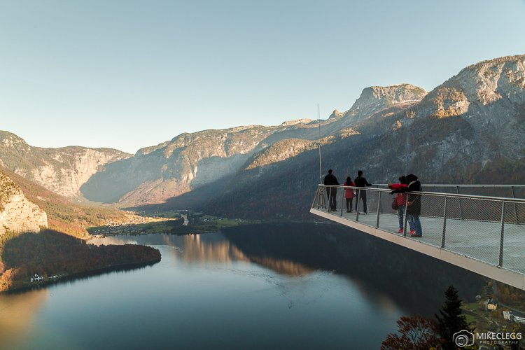 Viewing platform in Hallstatt