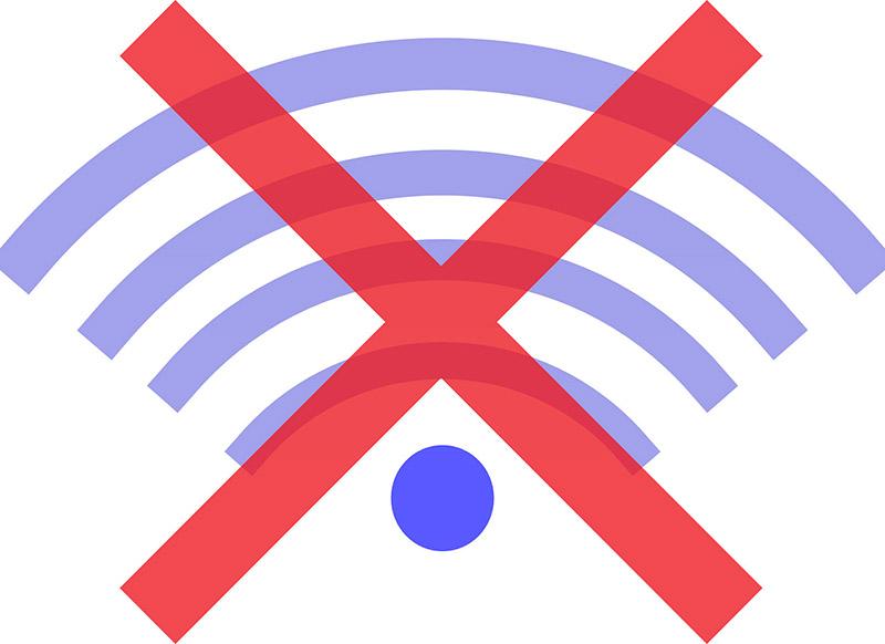 Broken Wifi via Pixabay