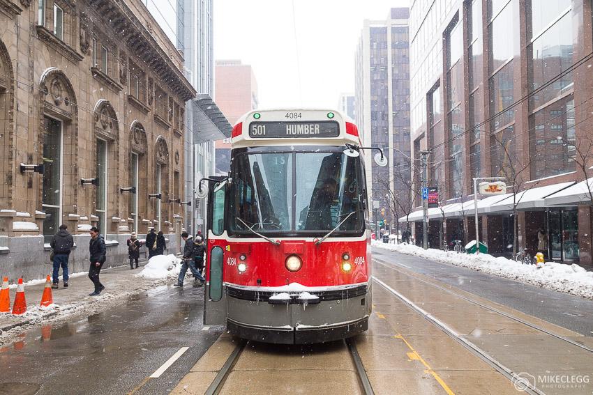 Street Cars in Toronto