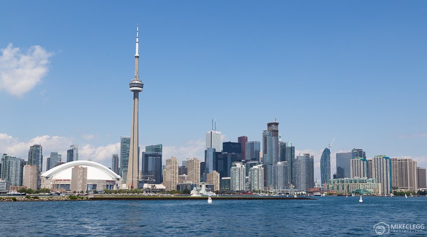 Toronto Skyline from Hanlans Island